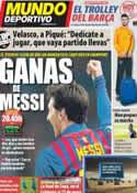 Portada Mundo Deportivo del 7 de Marzo de 2012