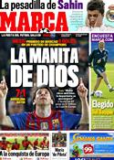 Portada diario Marca del 8 de Marzo de 2012