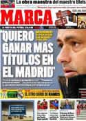 Portada diario Marca del 10 de Marzo de 2012