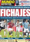Portada Mundo Deportivo del 10 de Marzo de 2012