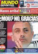 Portada Mundo Deportivo del 11 de Marzo de 2012