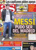 Portada diario AS del 13 de Marzo de 2012