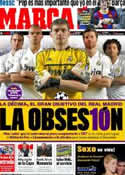 Portada diario Marca del 13 de Marzo de 2012