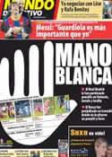 Portada Mundo Deportivo del 13 de Marzo de 2012