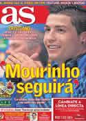 Portada diario AS del 14 de Marzo de 2012