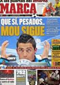 Portada diario Marca del 14 de Marzo de 2012