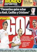 Portada Mundo Deportivo del 14 de Marzo de 2012