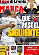 Portada diario Marca del 15 de Marzo de 2012