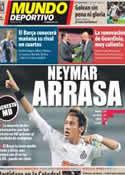 Portada Mundo Deportivo del 15 de Marzo de 2012