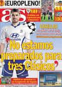 Portada diario AS del 16 de Marzo de 2012