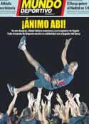Portada Mundo Deportivo del 16 de Marzo de 2012