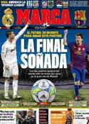 Portada diario Marca del 17 de Marzo de 2012