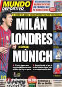 Portada Mundo Deportivo del 17 de Marzo de 2012