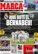 Portada diario Marca del 18 de Marzo de 2012