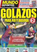 Portada Mundo Deportivo del 18 de Marzo de 2012
