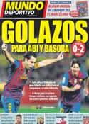Portada Mundo Deportivo del 18 de Marzo de 2012