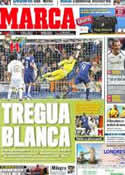 Portada diario Marca del 19 de Marzo de 2012
