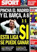 Portada diario Sport del 19 de Marzo de 2012