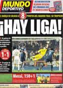 Portada Mundo Deportivo del 19 de Marzo de 2012
