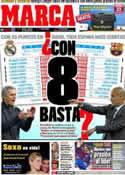 Portada diario Marca del 20 de Marzo de 2012