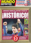 Portada Mundo Deportivo del 21 de Marzo de 2012