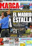 Portada diario Marca del 23 de Marzo de 2012