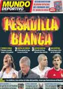 Portada Mundo Deportivo del 23 de Marzo de 2012