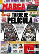 Portada diario Marca del 24 de Marzo de 2012