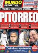 Portada Mundo Deportivo del 24 de Marzo de 2012