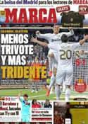 Portada diario Marca del 25 de Marzo de 2012