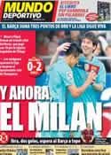 Portada Mundo Deportivo del 25 de Marzo de 2012