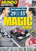 Portada Mundo Deportivo del 26 de Marzo de 2012