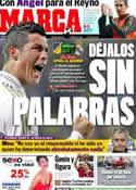 Portada diario Marca del 27 de Marzo de 2012
