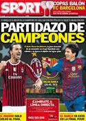Portada diario Sport del 28 de Marzo de 2012