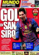 Portada Mundo Deportivo del 28 de Marzo de 2012
