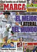 Portada diario Marca del 29 de Marzo de 2012