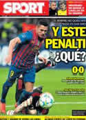 Portada diario Sport del 29 de Marzo de 2012