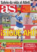 Portada diario AS del 30 de Marzo de 2012