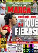 Portada diario Marca del 30 de Marzo de 2012