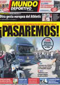 Portada Mundo Deportivo del 30 de Marzo de 2012