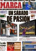 Portada diario Marca del 31 de Marzo de 2012