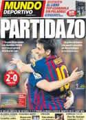 Portada Mundo Deportivo del 1 de Abril de 2012