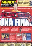 Portada Mundo Deportivo del 2 de Abril de 2012