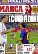 Portada diario Marca del 3 de Abril de 2012
