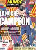 Portada Mundo Deportivo del 3 de Abril de 2012