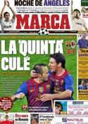 Portada diario Marca del 4 de Abril de 2012
