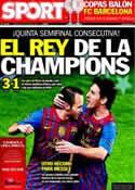 Portada diario Sport del 4 de Abril de 2012