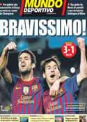 Portada Mundo Deportivo del 4 de Abril de 2012