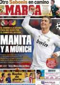 Portada diario Marca del 5 de Abril de 2012