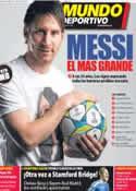 Portada Mundo Deportivo del 5 de Abril de 2012